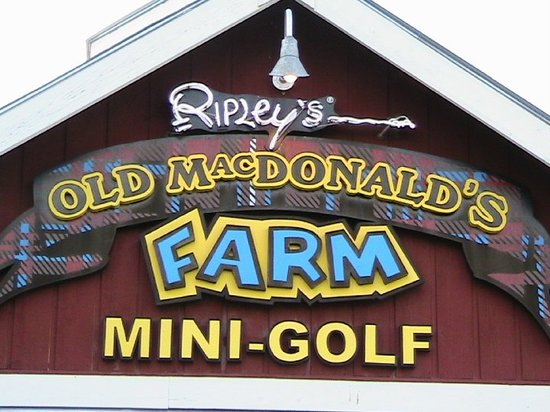 Ripley's Old MacDonald's Farm Mini Golf - Sevierville - Reviews of ...