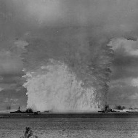 Kwajalein Island, Marshall Islands: Hydrogen bomb test at Bikini atoll, Marshall Islands 1963