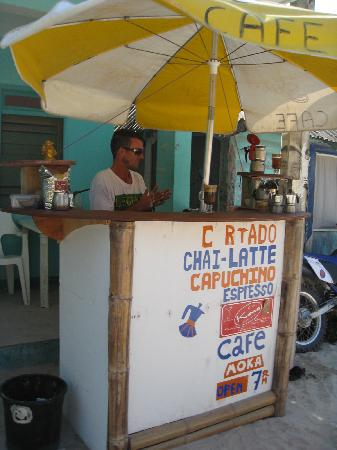 Punta Allen, Mexiko: coffee stand