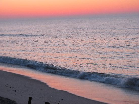 Beach Haven, NJ: beach sunrise
