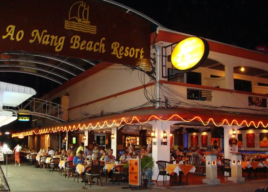 ‪‪Ao Nang Beach Resort‬: Front View Of Ao Nang Beach Resort‬