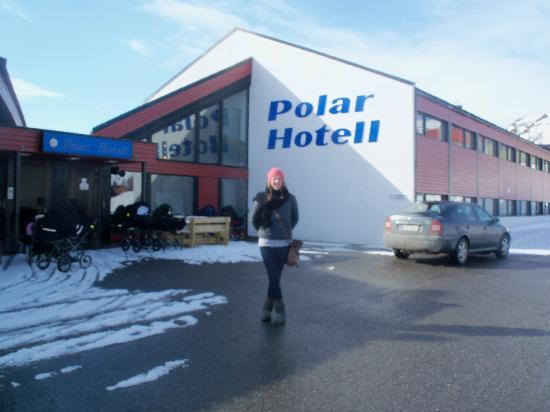‪‪Polar Hotel‬: outside polar hotel‬