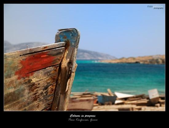 - Colours in progress -   Pano Koufonissi Island, Greece