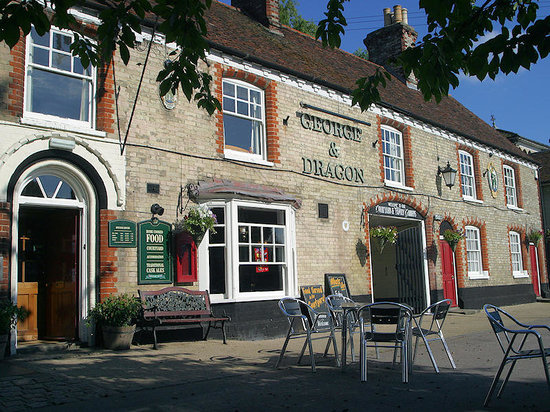 Long Melford, UK: Welcome to the George & Dragon
