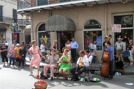 French Street New Orleans Music New Orleans la Street Band