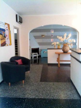 Celle Ligure, Italia: reception hotel la giara Celle