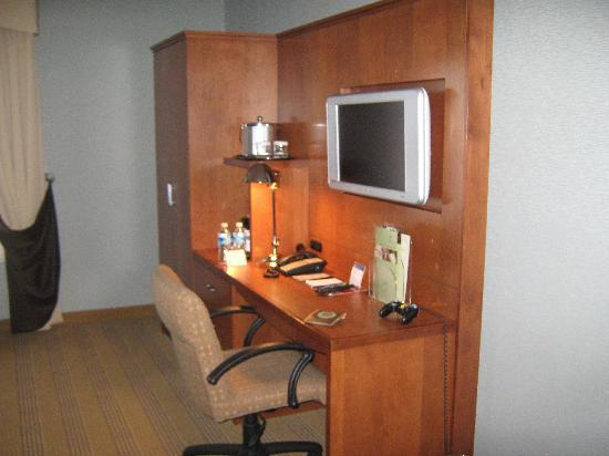 Doubletree Hotel Atlanta/Alpharetta-Windward: TV & Work Desk