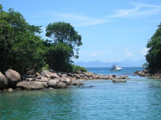 Ilha Grande, RJ: Lagoa azul