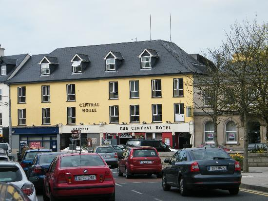 Donegal Town, Irland: Front of hotel