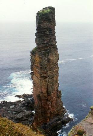 Kirkwall, UK: Old Man of Hoy, Orkney Islands