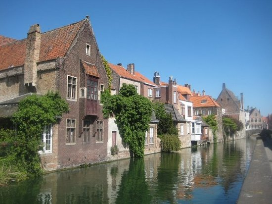 Bruges, Belgium: Boat ride