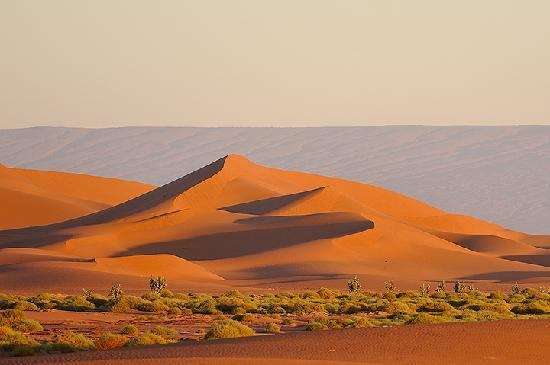 M'Hamid, Morocco: Sunrise from the camp