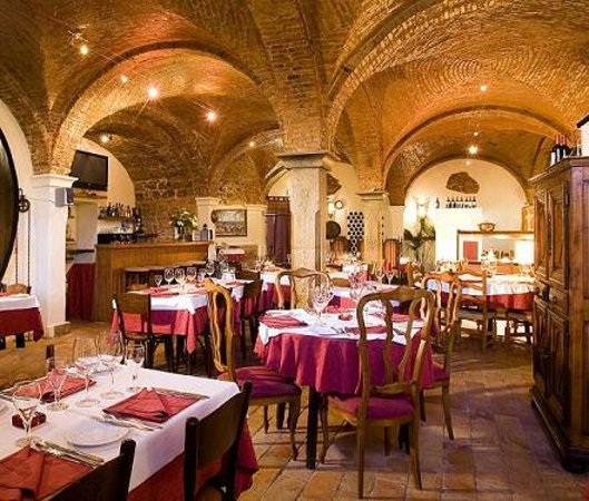 , : Vaults Restaurant