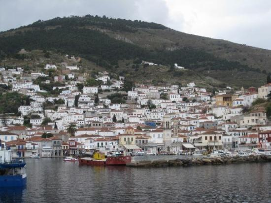 Hydra, Greece: the port