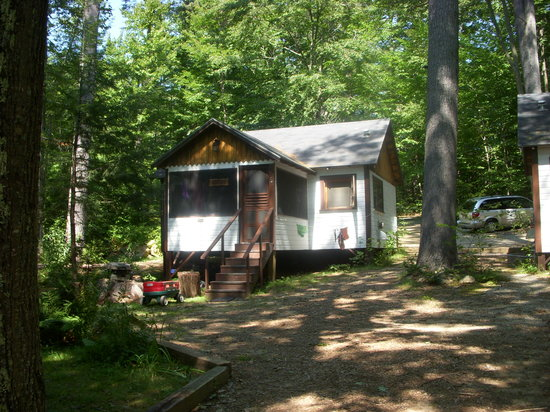 Holderness,  : One of the cabins