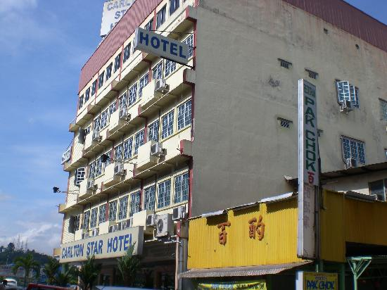 Seremban, Malaysia: side front view of hotel carlton star