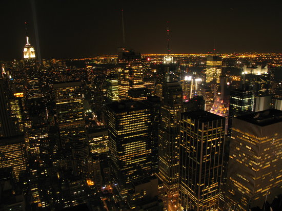 État de New York : desde top of the rock