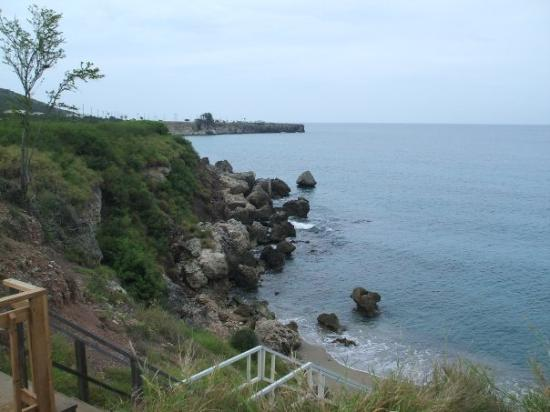 Guantanamo, Cuba: Girl Scout Beach from the top of the stairs