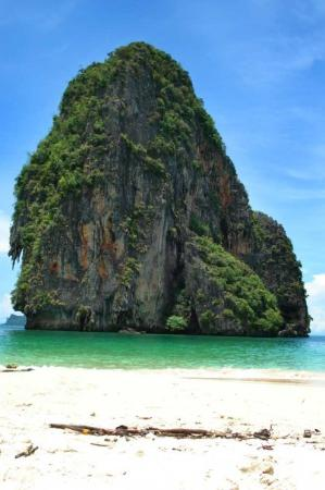 Ao Nang, Thailand: Railay beach