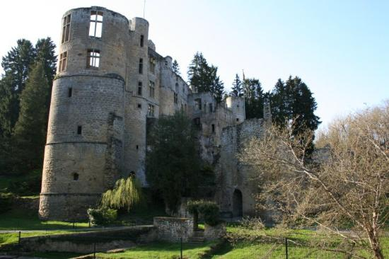 Mullerthal, Lussemburgo: The castle of Beaufort