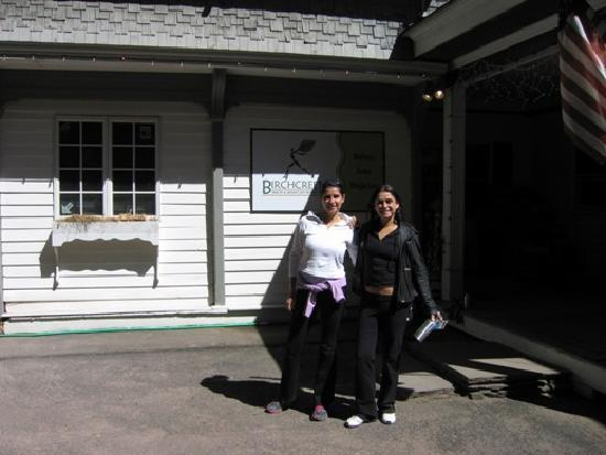 Birchcreek Retreat: Me & My sister at Birch Creek