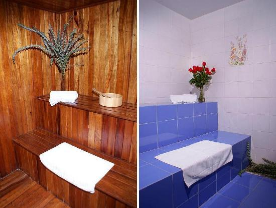 Hotel La Casa Medellin: Sauna and Steam Room