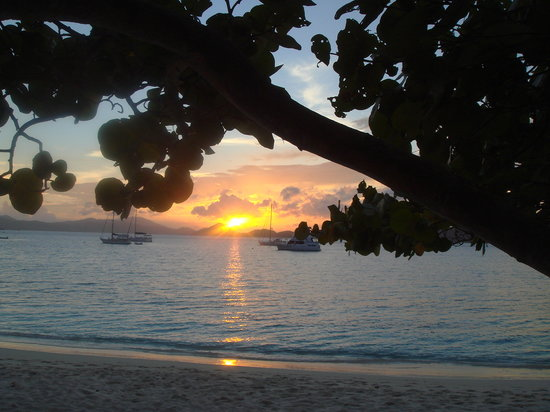 Caneel Bay, St. John: The sun