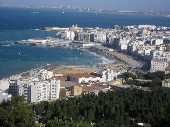 , : LA BAIE D&#39;ALGER (BAB EL OUED)