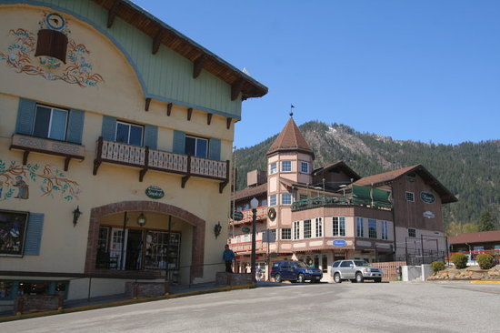Leavenworth - Arquitectura bvara.