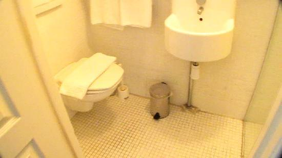 Amsterdam House Hotel: Small but clean bathroom