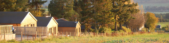 Kinnaird House and Woodland Lodges