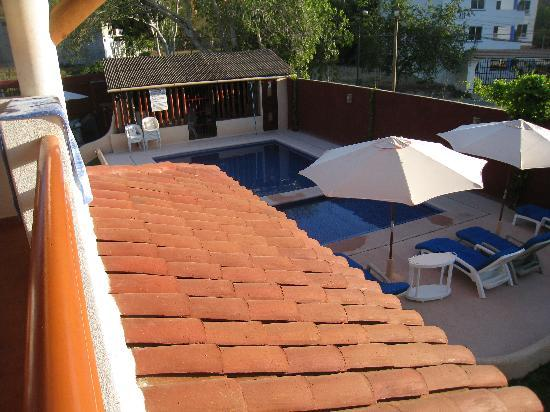 Villa El Arca: View of Pool