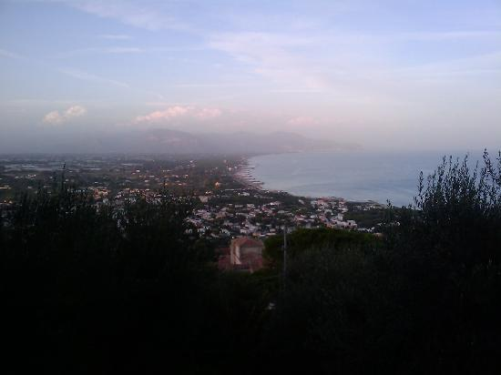 San Felice Circeo, Italy: The view from our villa
