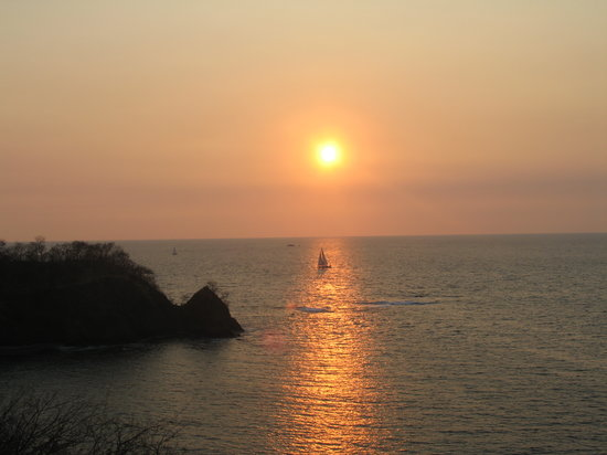 Gulf of Papagayo, Kosta Rika: Costa Rican sunset