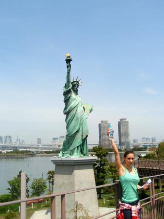 Statue of liberty, much smaller version - Picture of Statue of Liberty, Minat...