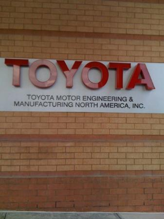 Tema toyota motor engineering manufacturing north for Toyota motor company usa