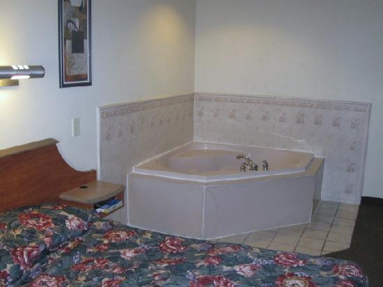 Jacuzzi In Slaapkamer Hotel : Red Roof Inn in Savannah GA with Jacuzzi