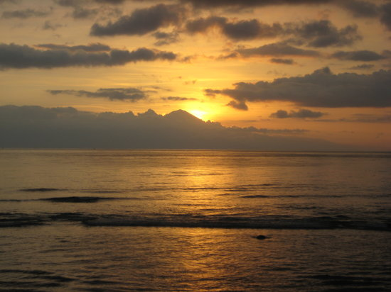 Senggigi, : Sunset in Qunci