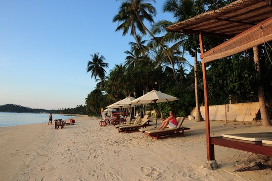 Taling Ngam, Thailand: The beach