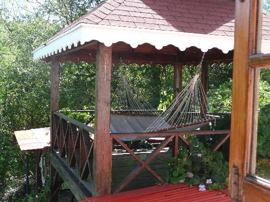 Villa Capri: One of the many hammocks