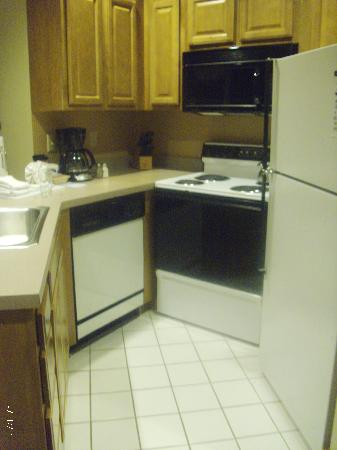 Worldmark Galena: fully furnished perfect size kitchen
