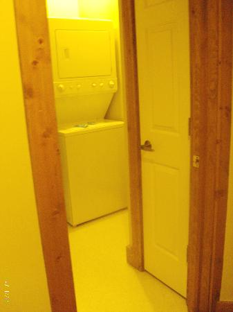 Worldmark Galena: personal laundry, utility closet in room!