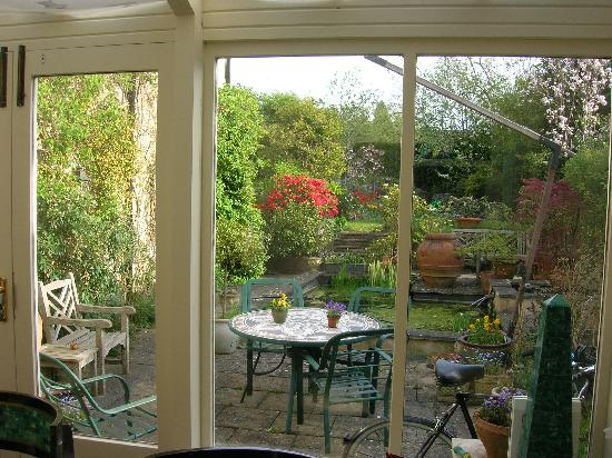 The Bath Courtyard: View from the breakfast table