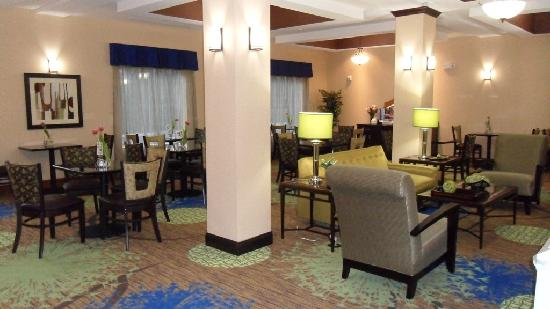 Holiday Inn Express Columbia: Breakfast area