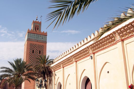 , : Marrakech Kasbah Mosque