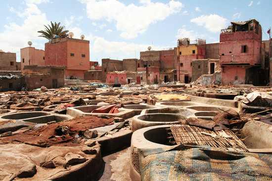 , : Marrakech Tannery 2