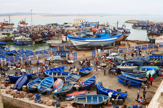 , : Essaouira harbour