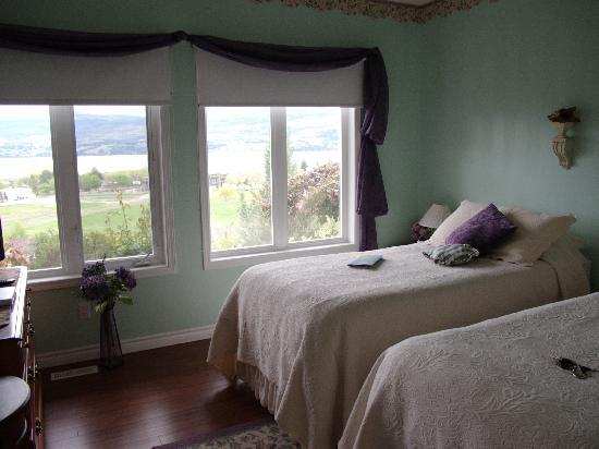 West Kelowna, Canada: The Bed Room