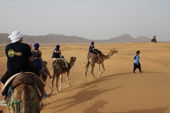 Zagora, Morocco: The Camel Ride - Sounds cool, kinda painful