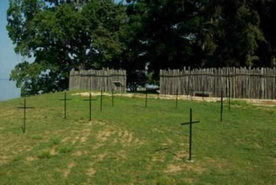 Jamestown Va United States Burial Ground Of The